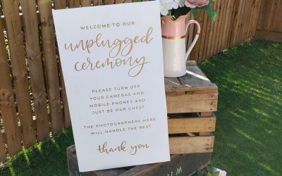 Are You Considering an Unplugged Ceremony on Your Wedding Day?